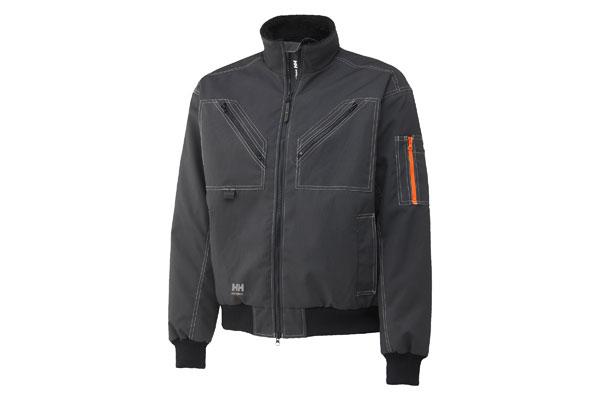 bergholm jacket grijs